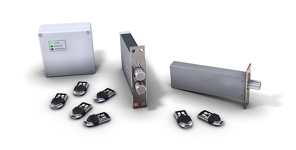 3D Product Rendering for the electronic lock system