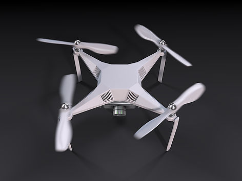 Preview of the 3D Rendering for the UAV drone