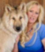 Tammy Wald with her dog