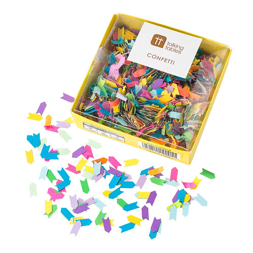 Rainbow Table Confetti