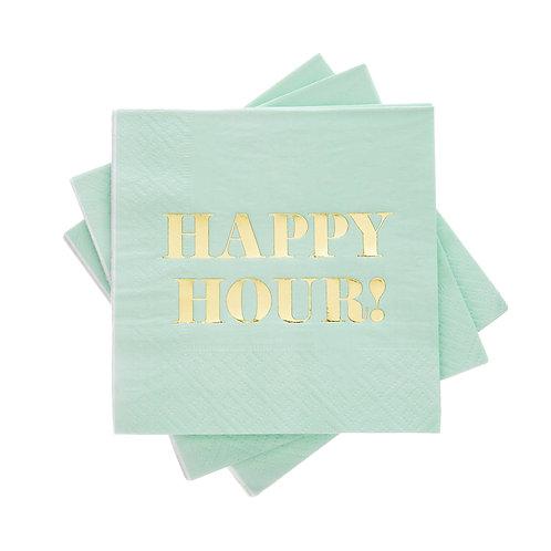 Happy Hour Cocktail Napkin
