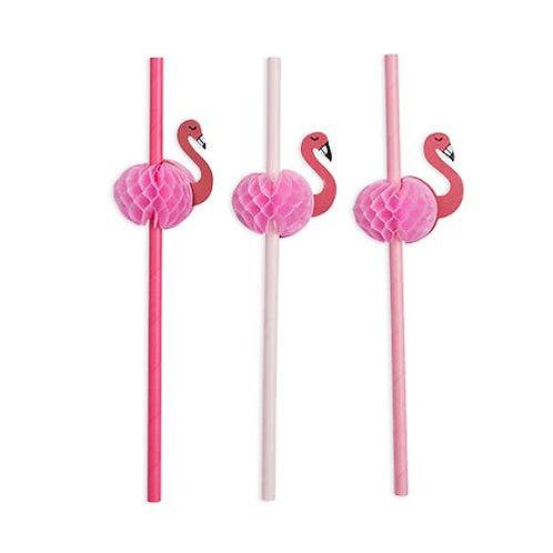 Assorted Flamingle Straws