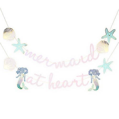 Mermaid at Heart' Garland