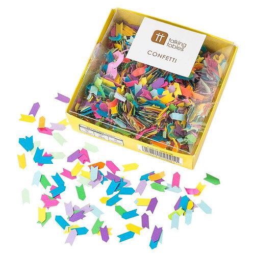 Birthday Brights Rainbow Confetti