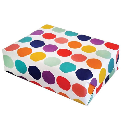 Rainbow Dot Gift Wrap
