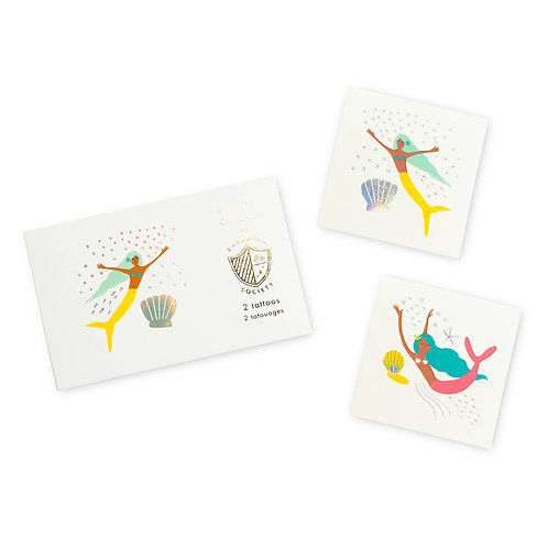 Under the Sea Temporary Tattoos (Pack of 2)
