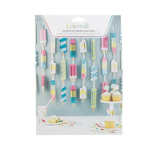 Ice Lolly Garland