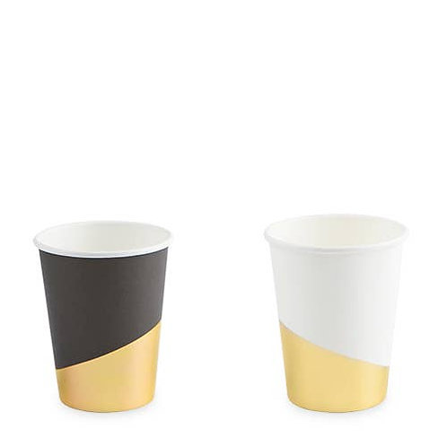 Assorted Gold Dipped Cups