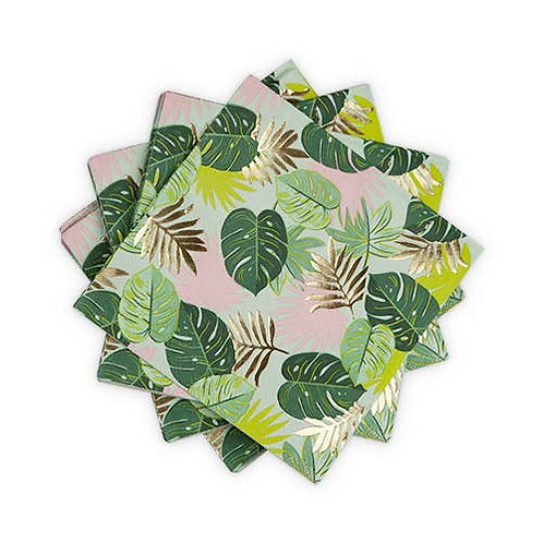 Monstera Dinner Napkin