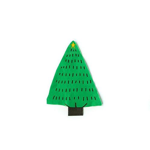 Holiday Tree Napkin