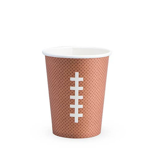 Football Paper Cup by Cakewalk - Set of 8