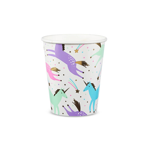 Magical Unicorn Cups (Pack of 8)