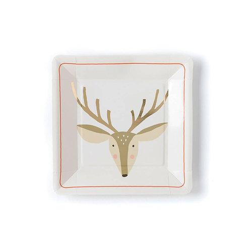 Holiday Deer Plate