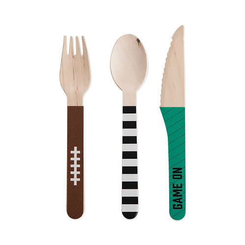 Assorted Tailgate Flatware by Cakewalk