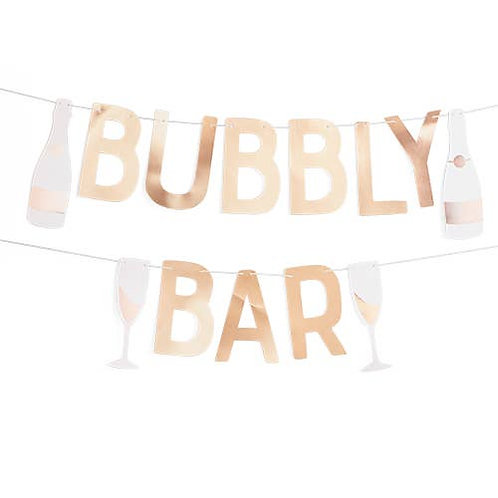 Bubbly Bar Garland by Cakewalk