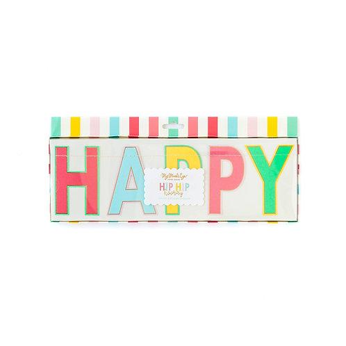 """Hip Hip Hooray """"Happy Birthday"""""""