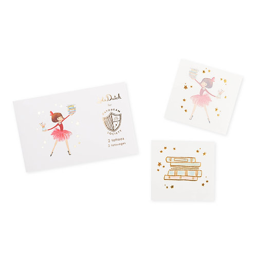 Lola Dutch In the Stars Temporary Tattoos (Pack of 2)