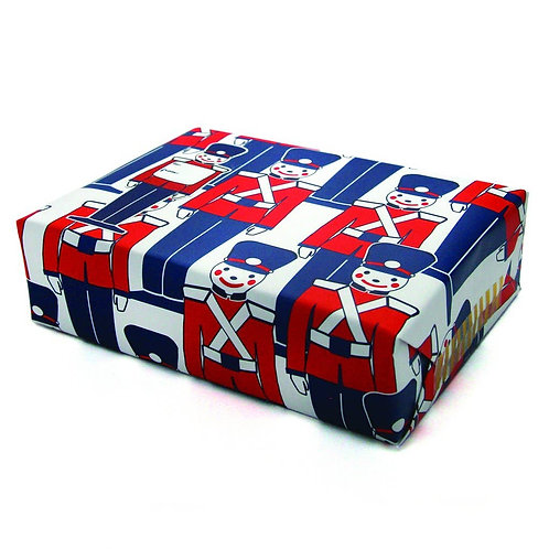 Toy Soldier Gift Wrap