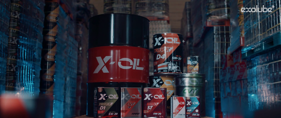 엑소루브 'X-OIL : exoluve lubricant corporation'