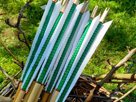 Two sets of Authentic Medieval Arrows