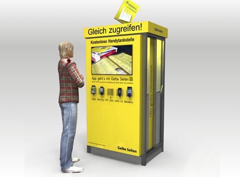 Konzept Ausgabebox