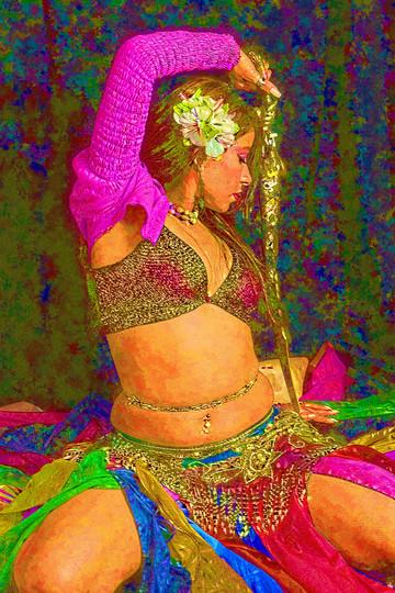 Belly dance Matrix