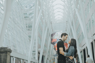 Iris & Simon | A Downtown Toronto Engagement Shoot