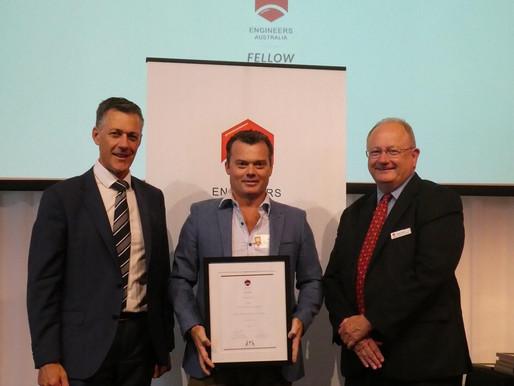 David Carson Achieves EA Fellow Status