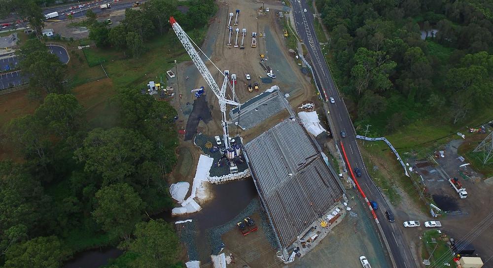 Temporary Crane Platform
