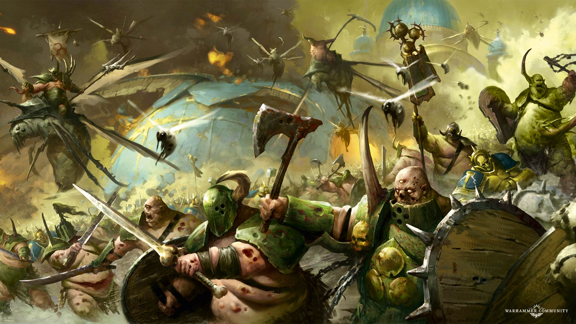 Nurgle's worshippers