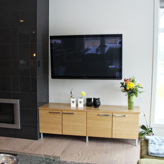 Bamboo T.V Stand