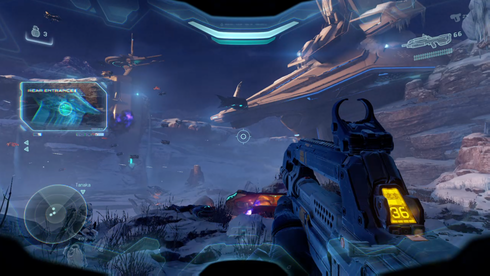 Halo 5 first person perspective