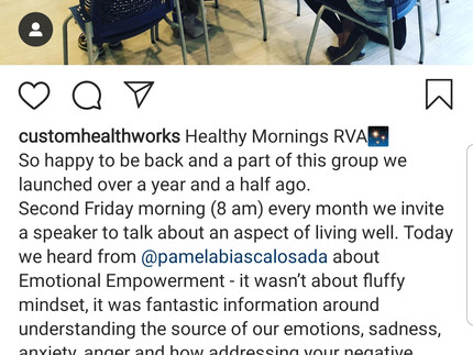 Sharing about Emotional Empowerment