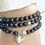 Thumbnail: Wrap Bracelet- Dark Jasper