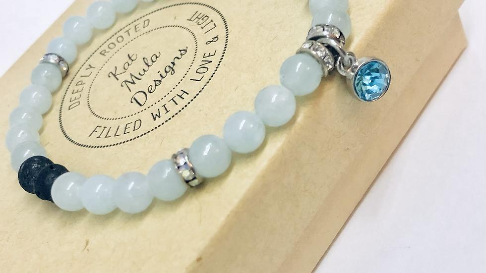 Bracelet Gift Set with DoTerra Serenity Linen Mist