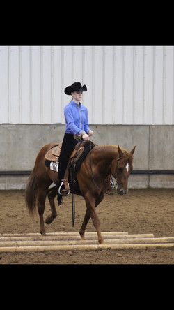 Kennedy in Ranch Riding
