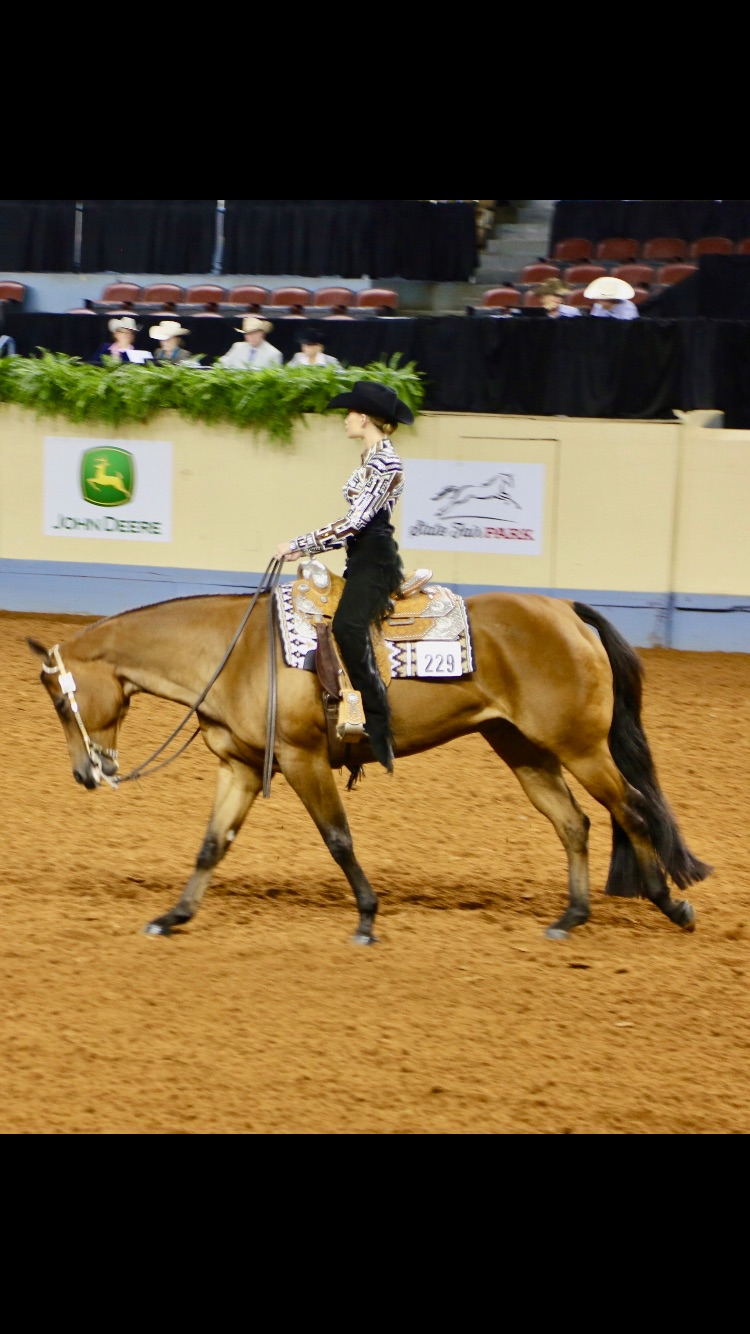 Rhegen in horsemanship Youth World
