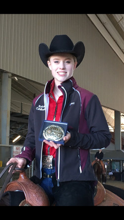 Kennedy winning Champion of Champion