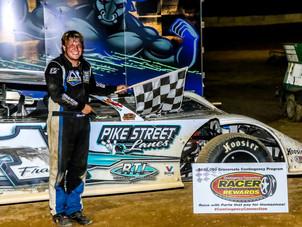 Jackson County Speedway Racer Rewards Winner Brandon Francis