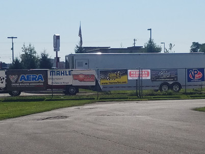 Cool banner shots from Crossroads Dragway