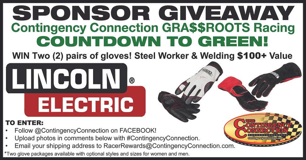 Sponsor Giveaway Countdown to Green Lincoln Welders Gloves.jpg