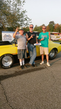 2nd Place Mike Miller from Erie, PA  driving a 67 Camaro 6.91 _ 91.48