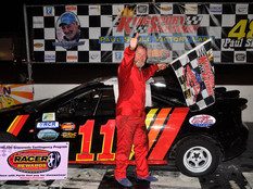 Kenny Absher, Rob Austin, Wayne Hale, Kevin Canter, Rusty Clendenin Post Wins at Kingsport Speedway
