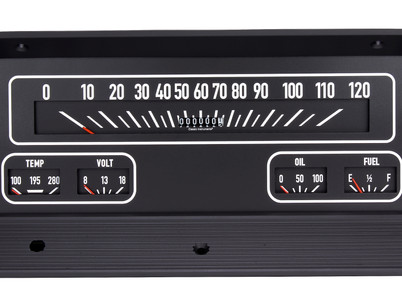 Classic Instruments release a direct-fit cluster for 1964-66 Chevy trucks