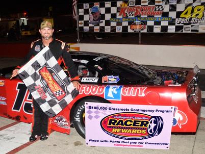 Kingsport Speedway Racer Rewards Winners