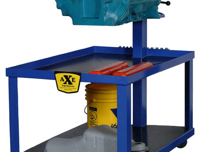 ESTD-40 engine stand tear down cart from Axe Equipment