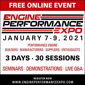 Engine Performance Expo Free Online Jan. 7-9