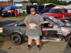 Lonesome Pine Raceway Racer Rewards Winner Dakota Collins