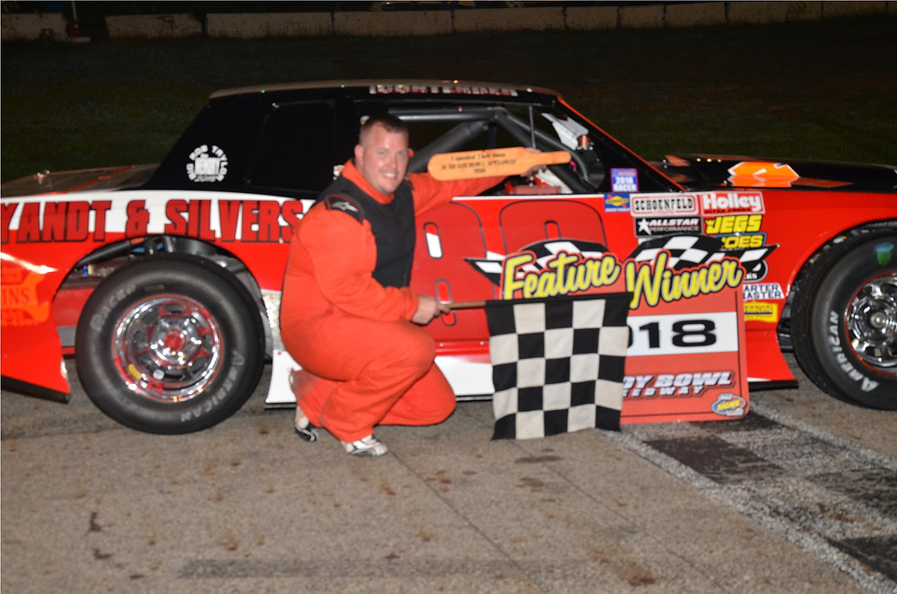 Piqua's Josh Sage was the winner of the street stock feature.