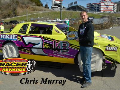 Bristol Motor Speedway Dirt Nationals Racer Rewards Winner Chris Murray